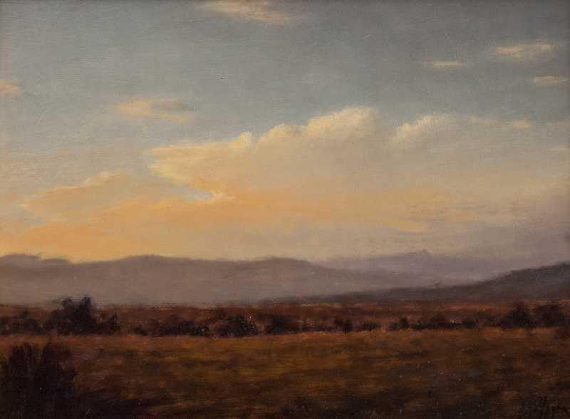 Evening Glow by  Peter Hagen - Masterpiece Online