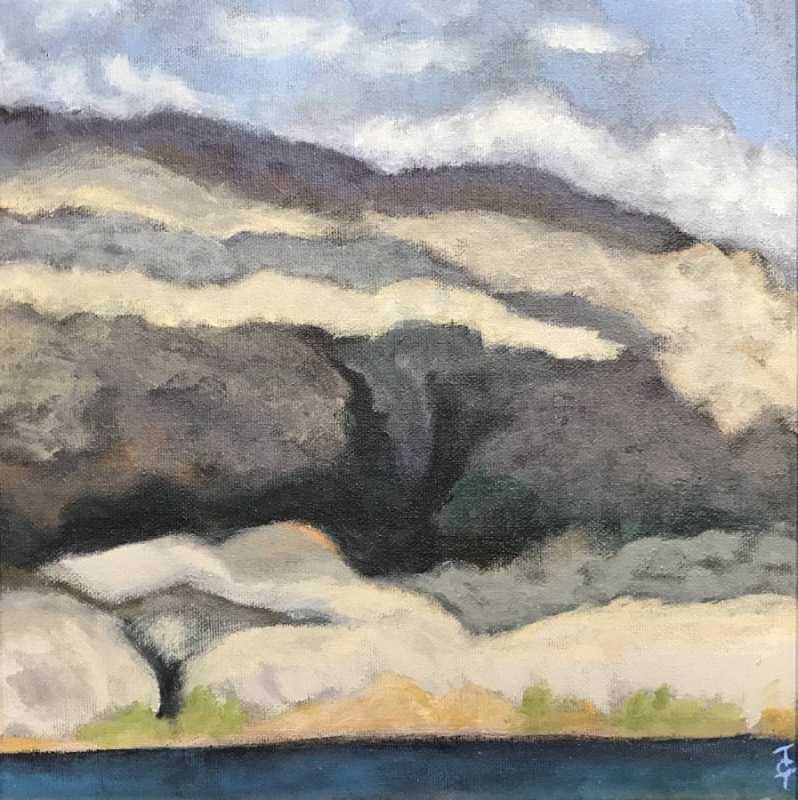 End of Road, Naramata... by  Tracy Turcotte - Masterpiece Online