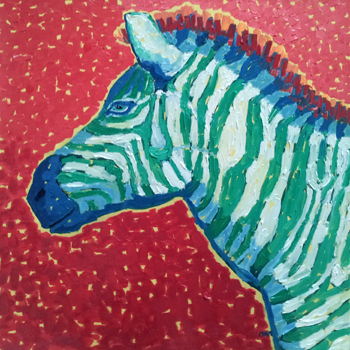 Young Zebra at Hurst ... by  Char  Michelson  - Masterpiece Online