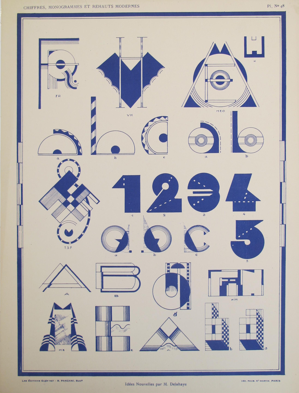 Typography - Vignette... by  M.  Delahaye - Masterpiece Online
