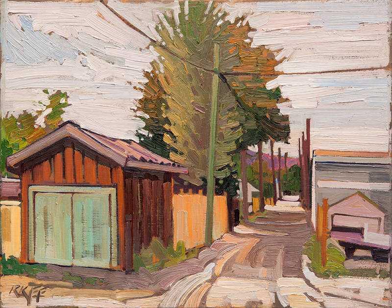 Ashcroft Alley by  Ken Faulks - Masterpiece Online