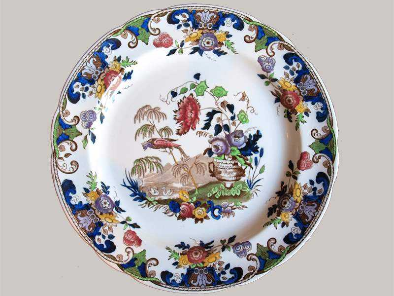 Set of 10 Plates by   English - Masterpiece Online