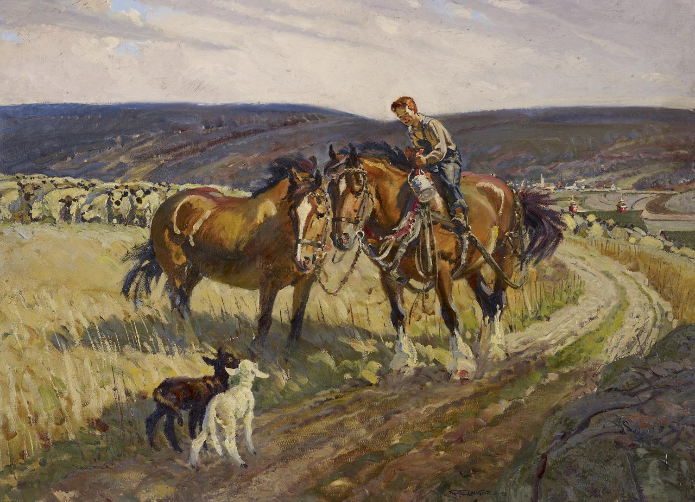 Visitors by  Robert Lougheed - Masterpiece Online
