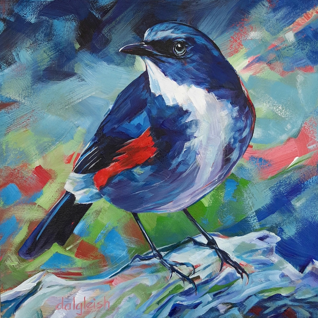 Blue Tail by  Keith Dalgleish - Masterpiece Online