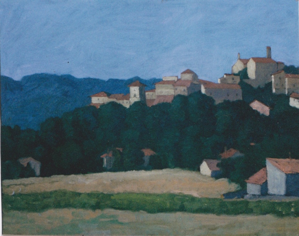 Vinon sur Verdon by  Melissa Hefferlin - Masterpiece Online