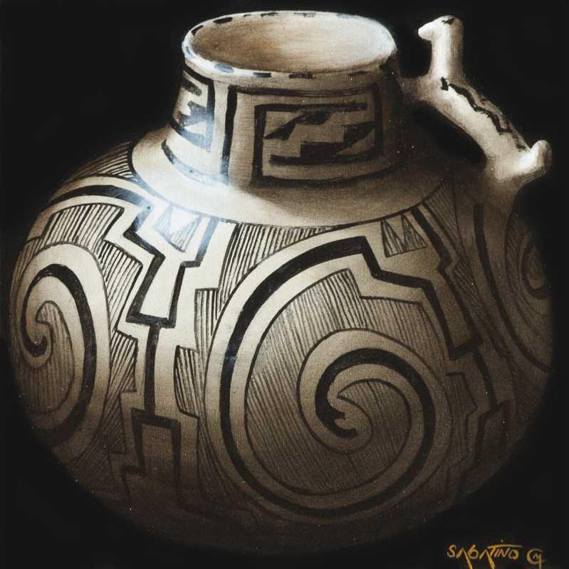 Anasazi Pitcher by  Chuck Sabatino - Masterpiece Online