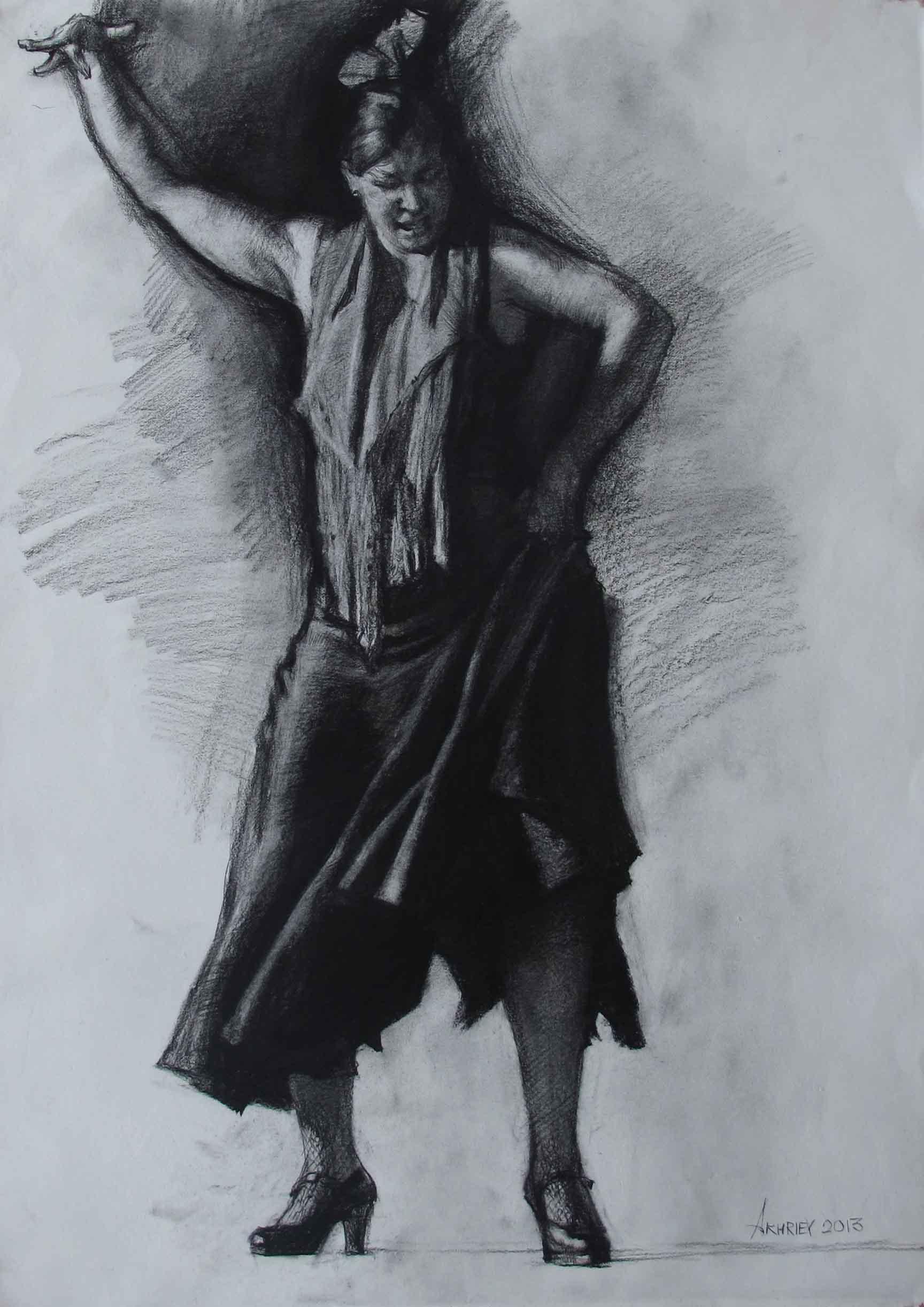 Marta Stomping by  Daud Akhriev - Masterpiece Online
