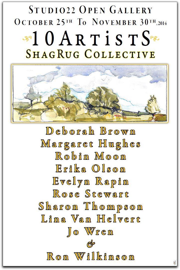 10 Artists - Shag Rug...  by  Idea Manufactory
