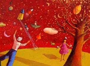 Poetry Planet  by  Nathalie Novi