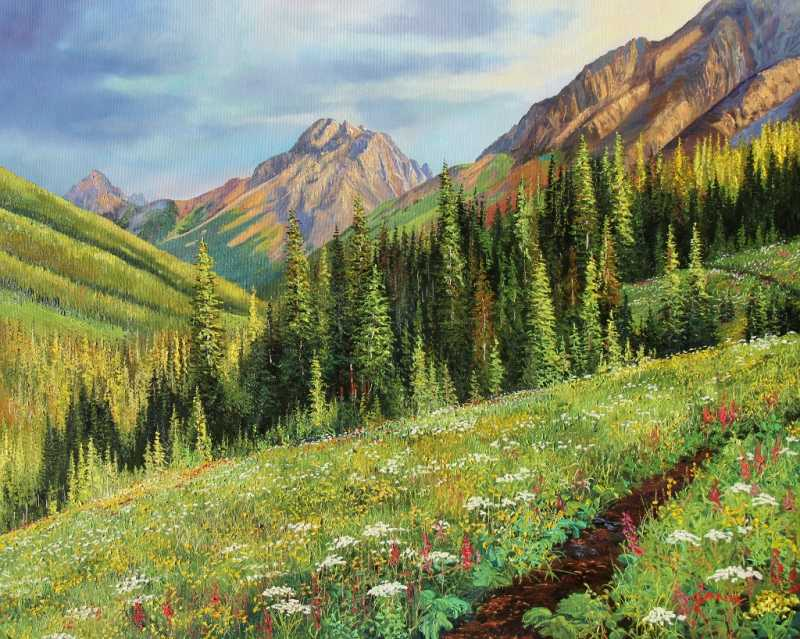 Alpine Summer by  Andrew Kiss - Masterpiece Online