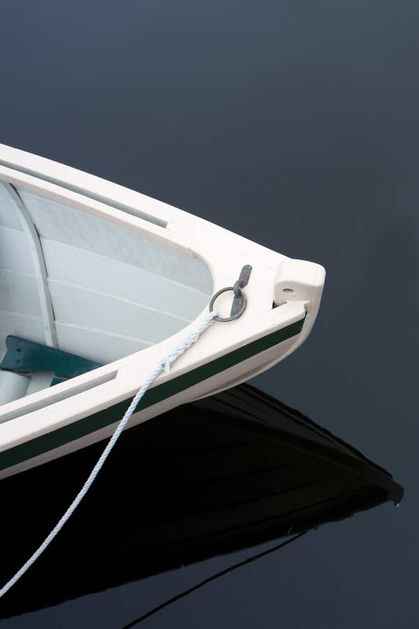 White Rowboat II 2011... by  Alison Shaw - Masterpiece Online