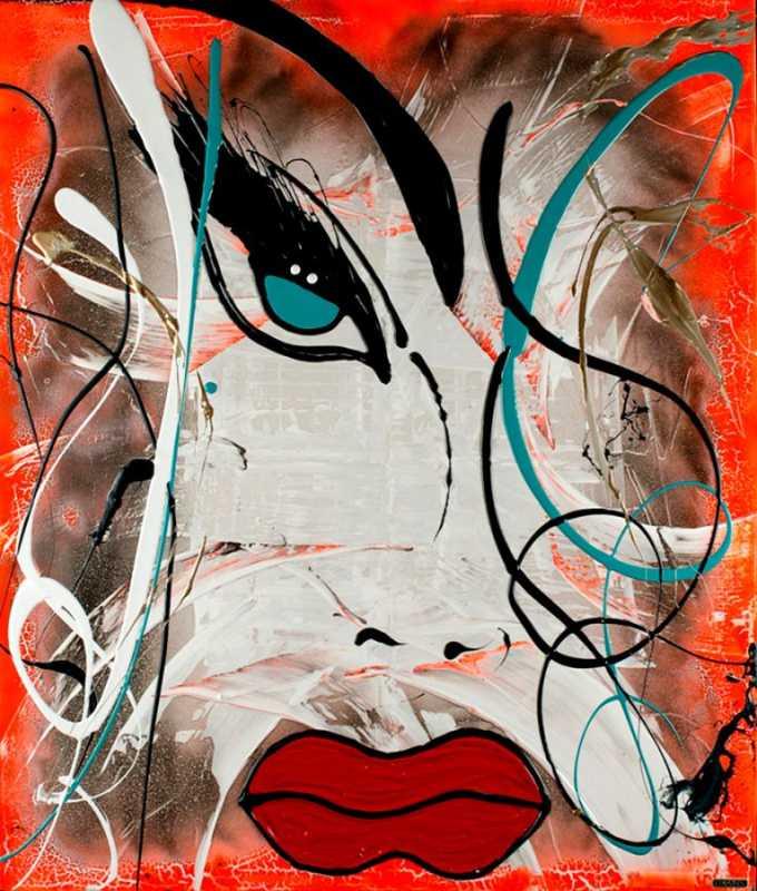 Lys fluo orange  by  Lisabel