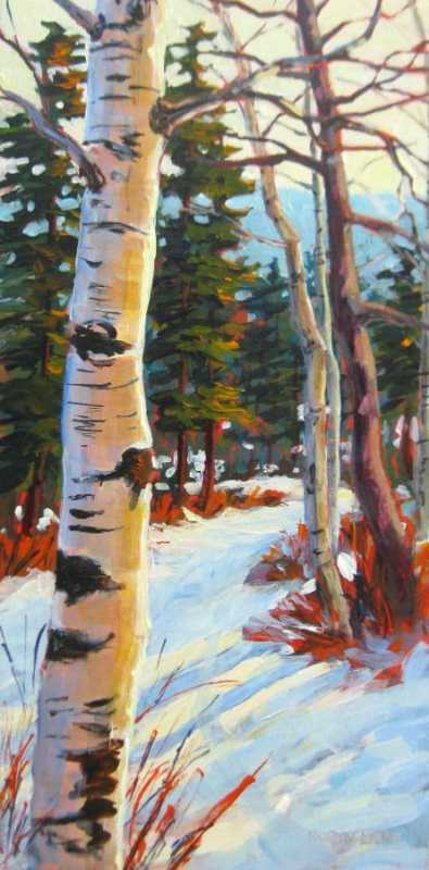 Birch Madness by  Robyn Lake - Masterpiece Online