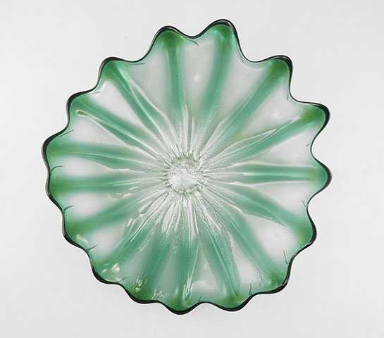 Platter/Emerald by  Cliff Goodman - Masterpiece Online