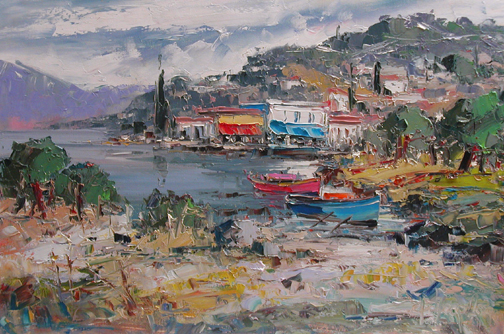 Great Day at the Harb... by  Fani  Parlapani  - Masterpiece Online