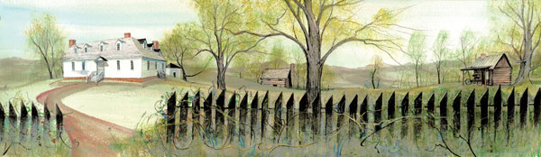 DP-Spring at the Smit... by  P. Buckley Moss  - Masterpiece Online