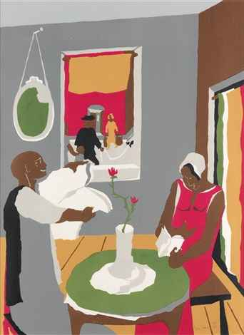 Aspiration by  Jacob Lawrence - Masterpiece Online