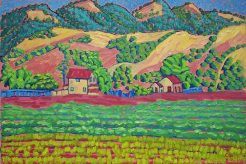 Salinas Valley by  Char  Michelson  - Masterpiece Online