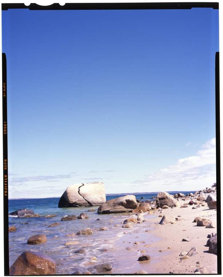 Split Rock Beach by  Jhenn Watts - Masterpiece Online