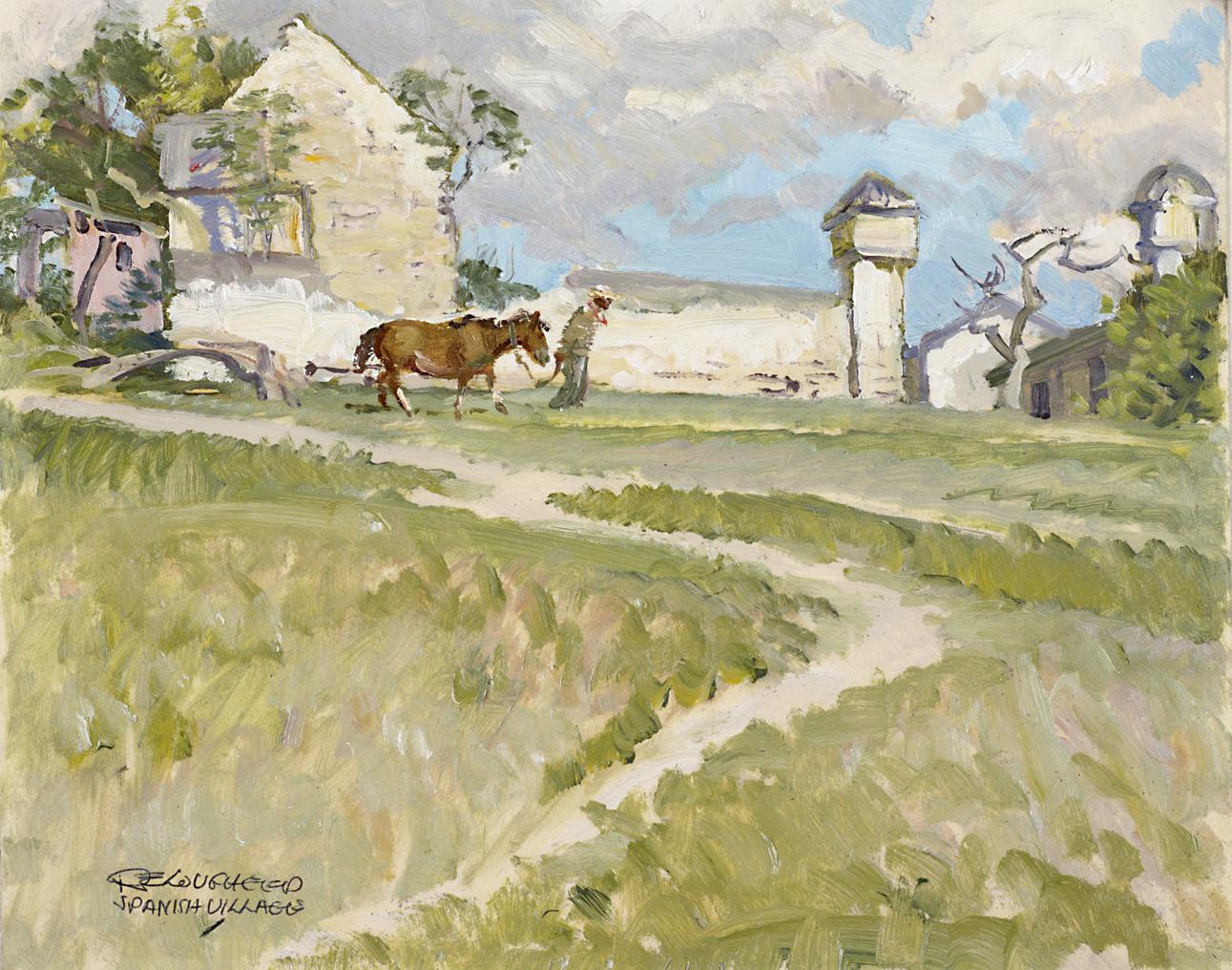 Spanish Village - St.... by  Robert Lougheed - Masterpiece Online