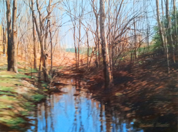 Blue Stream by  Michael Wheeler - Masterpiece Online