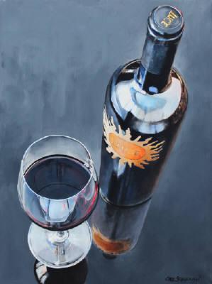 In Vino Sanitas by  Carl Schlademan - Masterpiece Online