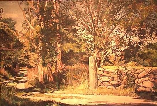 West Tisbury Shadows by  Russ North - Masterpiece Online