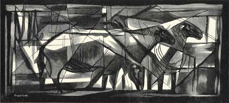 Sheep by  Bernard Brussel-Smith (1914-1989) - Masterpiece Online