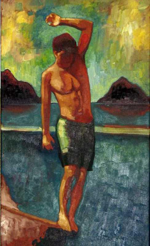 Mokulua Surfer by  Colin Redican - Masterpiece Online