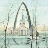 DP-ST. LOUIS by  P. Buckley Moss  - Masterpiece Online