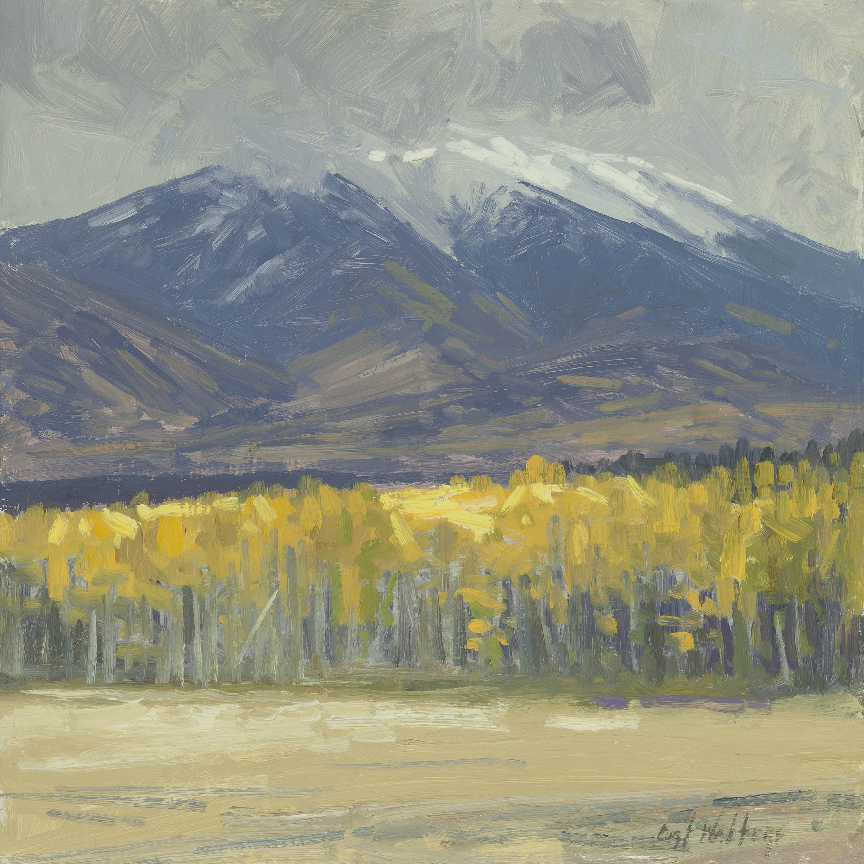 First Snow On Humphre... by Mr. Curt Walters - Masterpiece Online