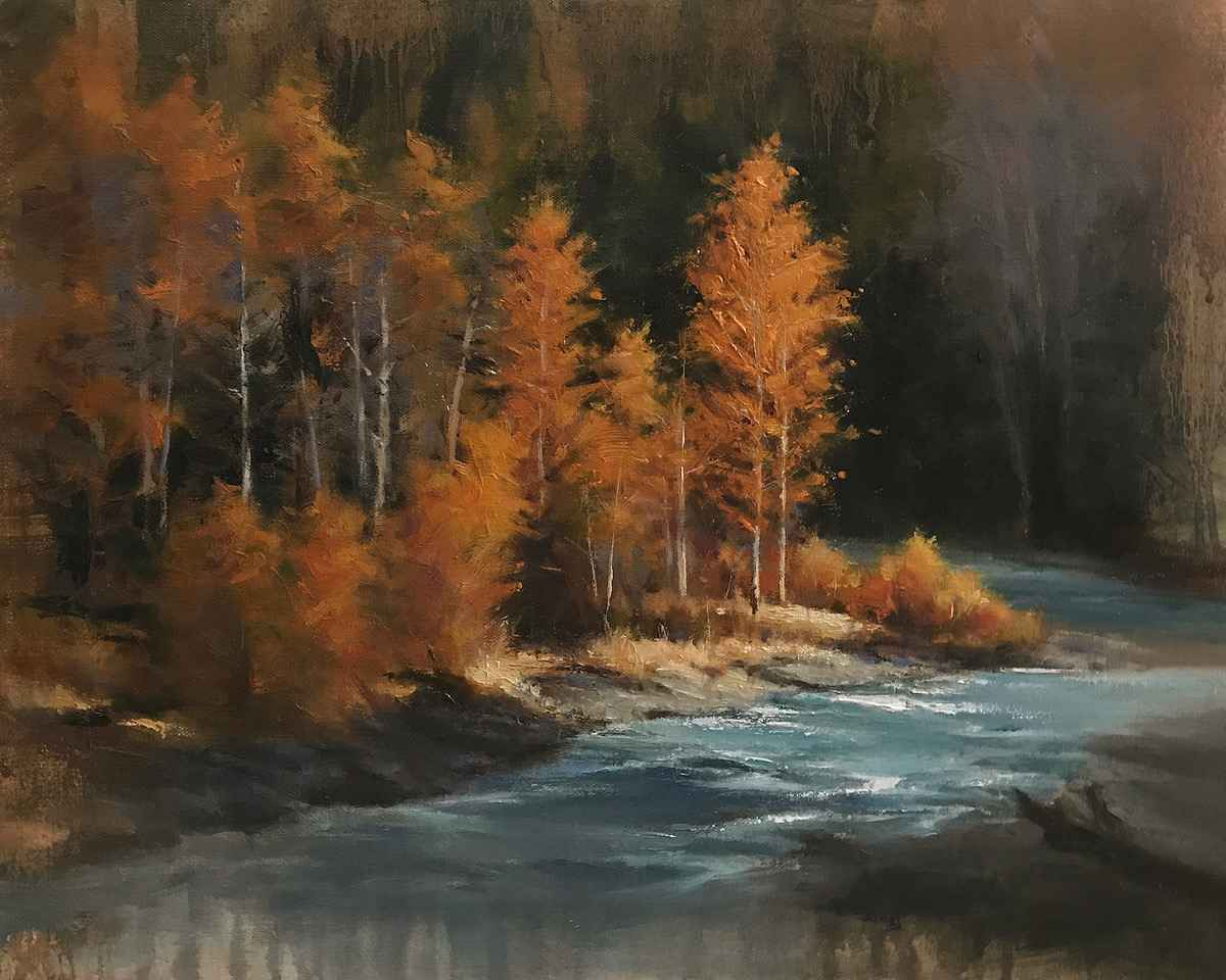 Autumn Gold by  David Marty - Masterpiece Online