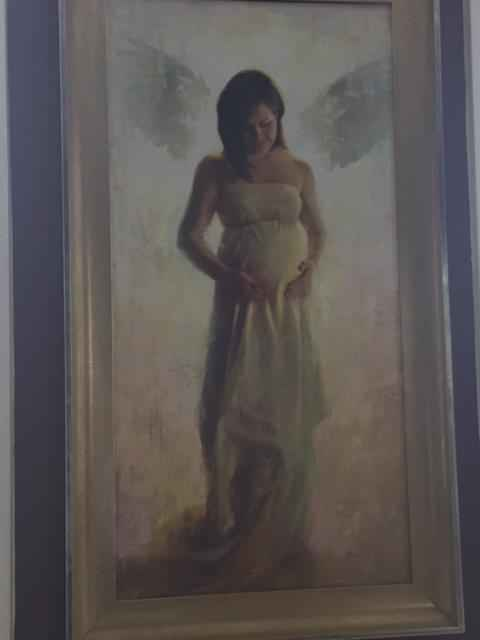 Coming of an Angel by  Chuck Marshall - Masterpiece Online