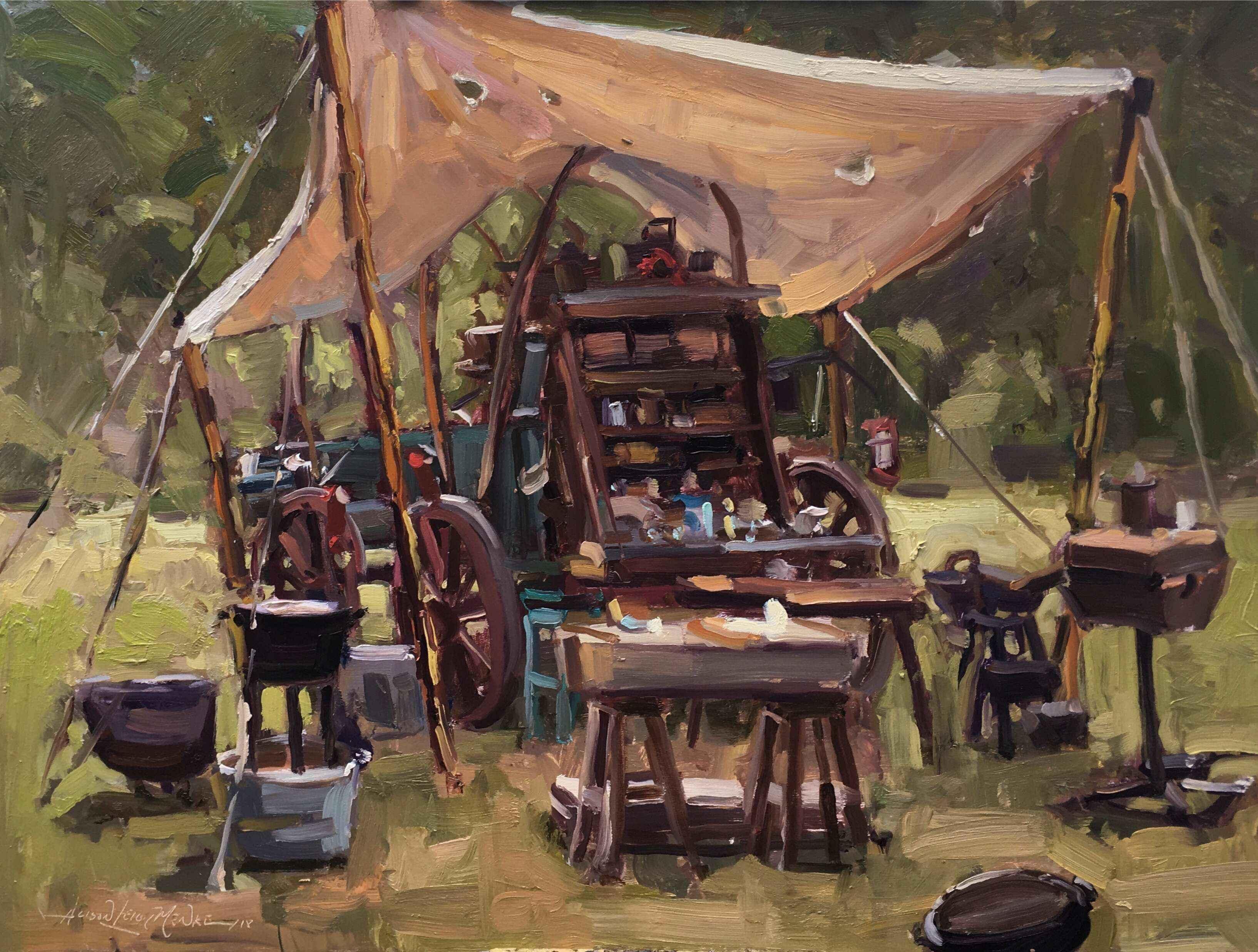 Cowboy's Kitchen by  Alison Menke - Masterpiece Online