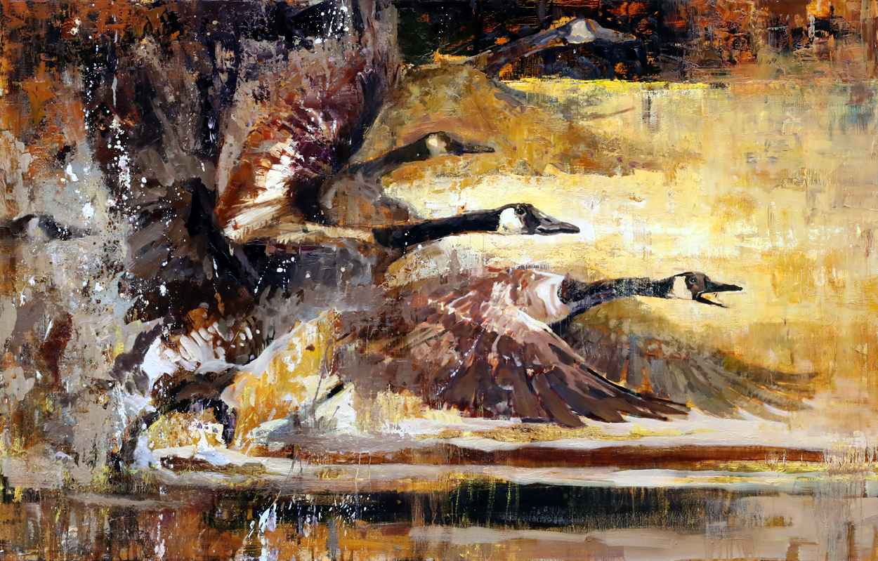 FLIGHT ON GOLDEN POND by Mr. Jerry Markham - Masterpiece Online