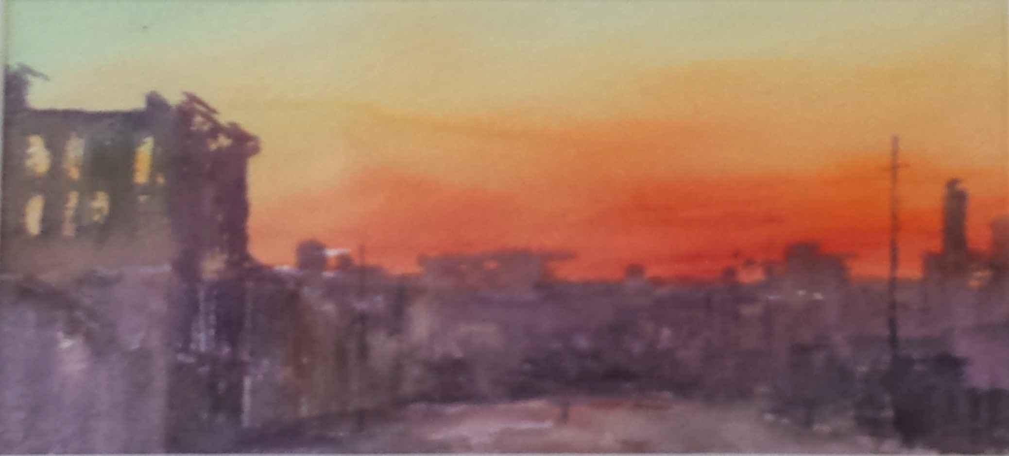 Untitled (Urbanscape ... by Mr. Terry Firkins - Masterpiece Online