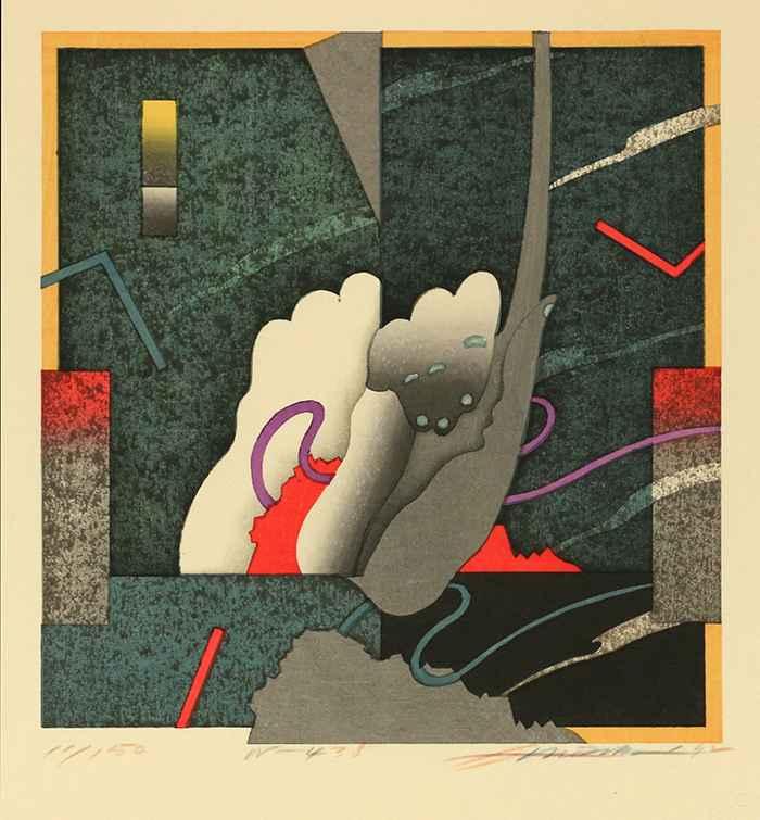 Work No.438 by  Akira Kurosaki - Masterpiece Online