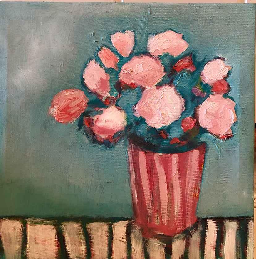 Begonias  by  Lisa Thoren