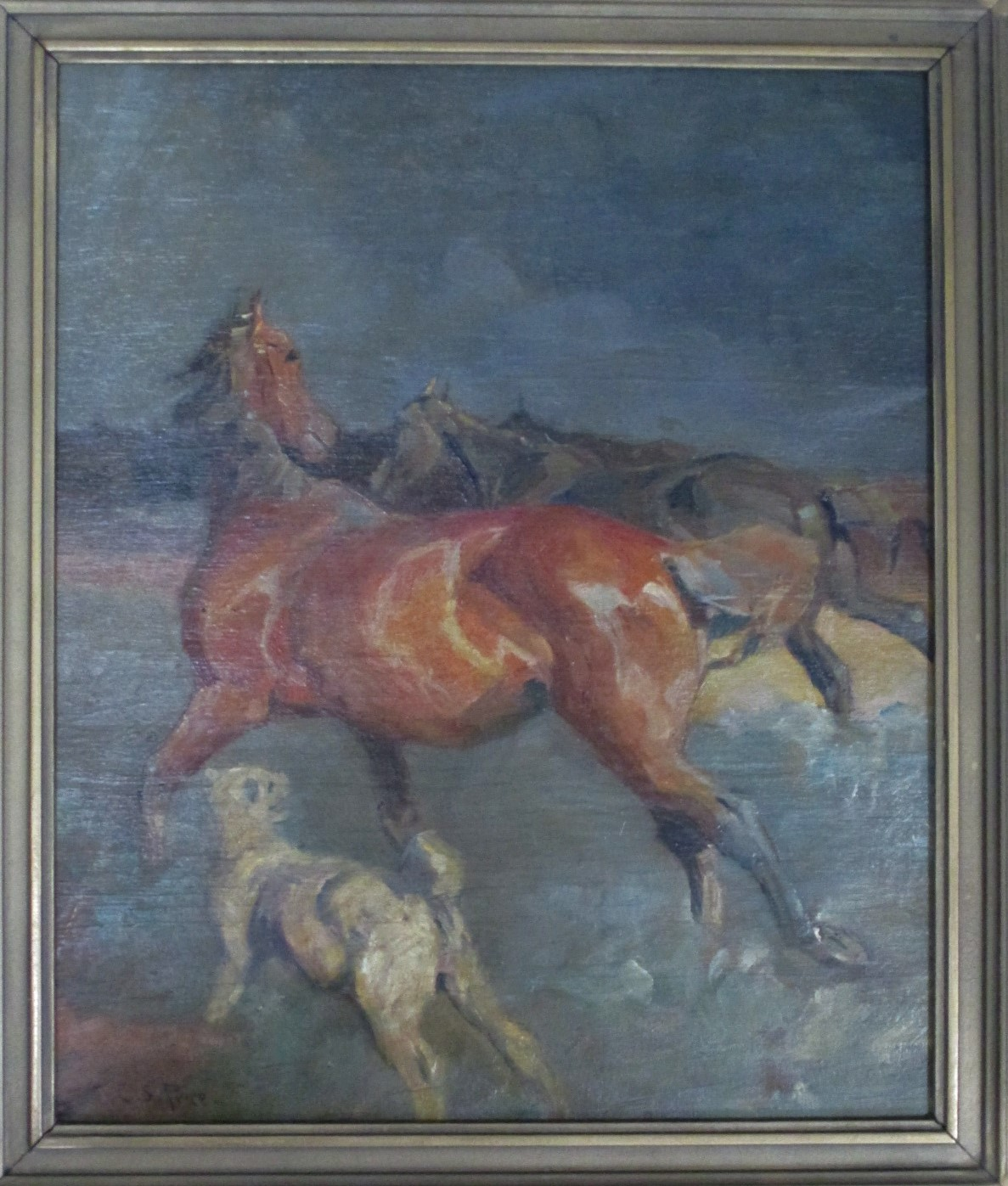 Unknown (Horses and d... by  Clayton Sumner Price - Masterpiece Online