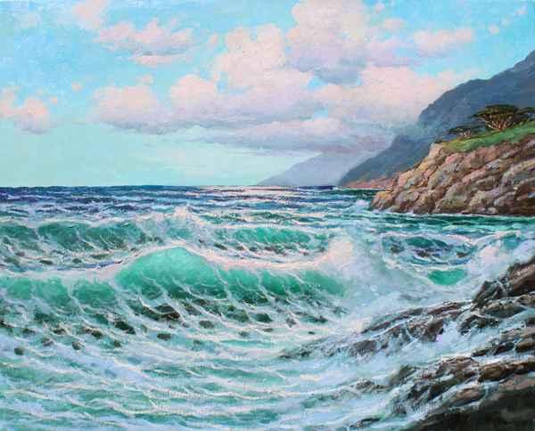 South Wind Along Garr...  by  A Dzigurski II