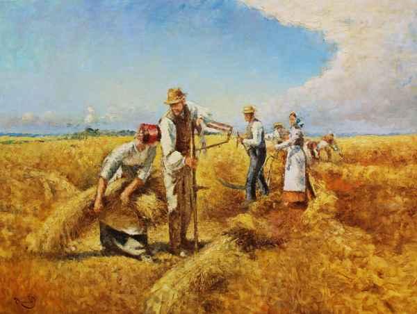 Harvest Time by  Vladimir  Nasonov  - Masterpiece Online