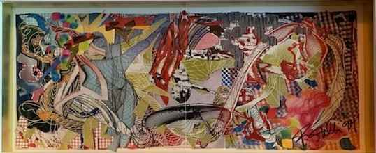 New Paintings by  Frank Stella - Masterpiece Online