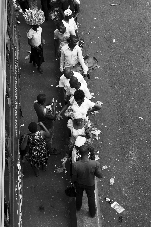 Commuters (Oshodi) by Mr Eseosa Ikponmwosa - Masterpiece Online