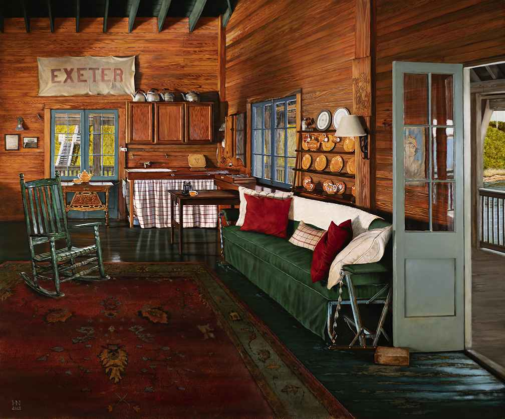 The Boathouse by  Heather Neill - Masterpiece Online