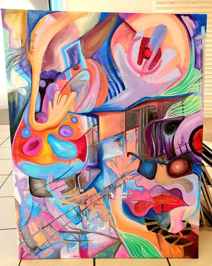 Abstract Scene by  Zero Gradient Stephen Irving - Masterpiece Online