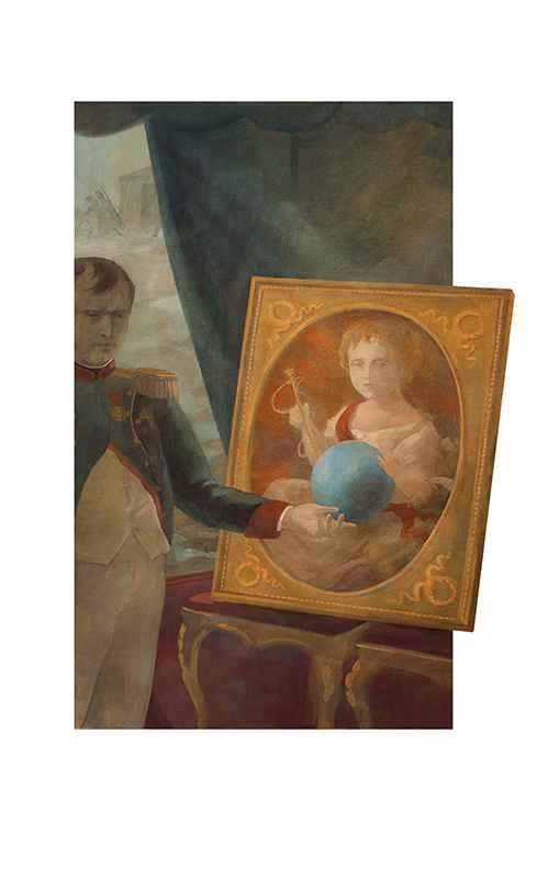 Napoleon Portrait by  Igor Karash - Masterpiece Online