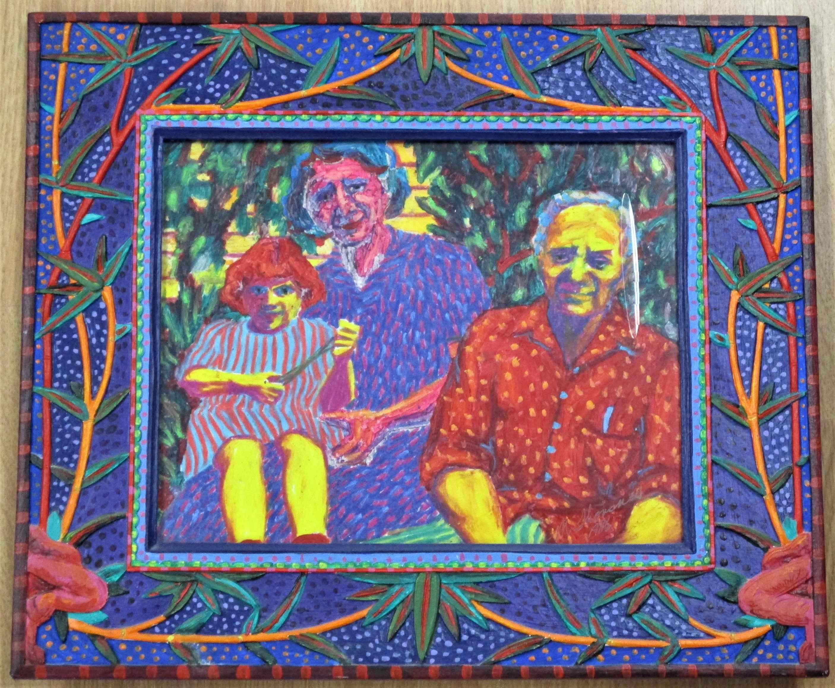Unknown (3 people) by  Melinda Thorsnes - Masterpiece Online