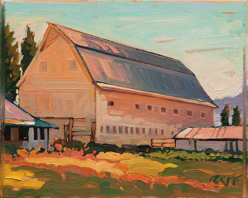 Cameron Barn - Sears ... by  Ken Faulks - Masterpiece Online
