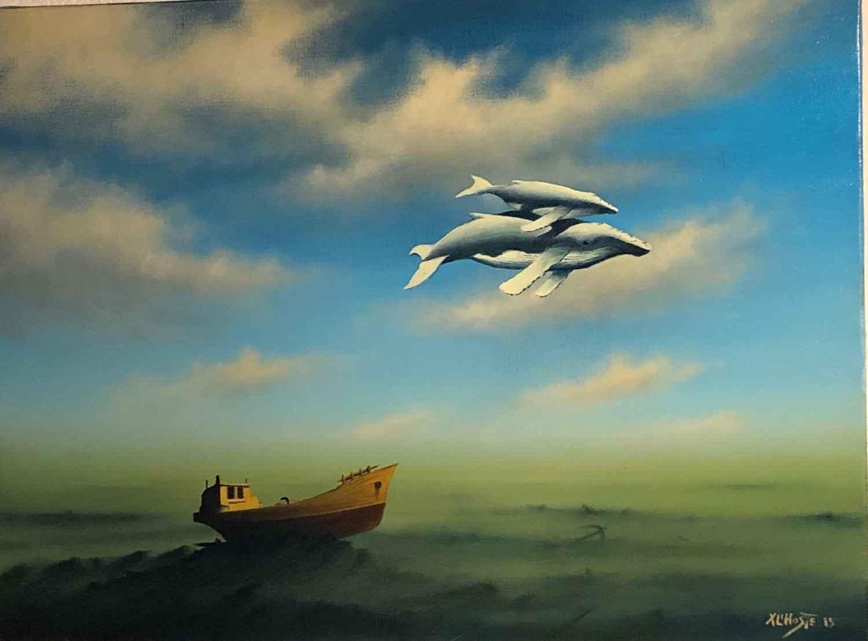 Migration by  Xavier L'HOSTE - Masterpiece Online