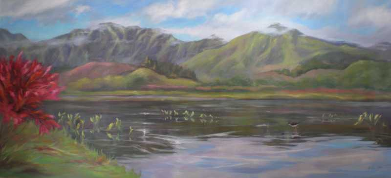 Kawai Nui Marsh by  Kristen Olson - Masterpiece Online